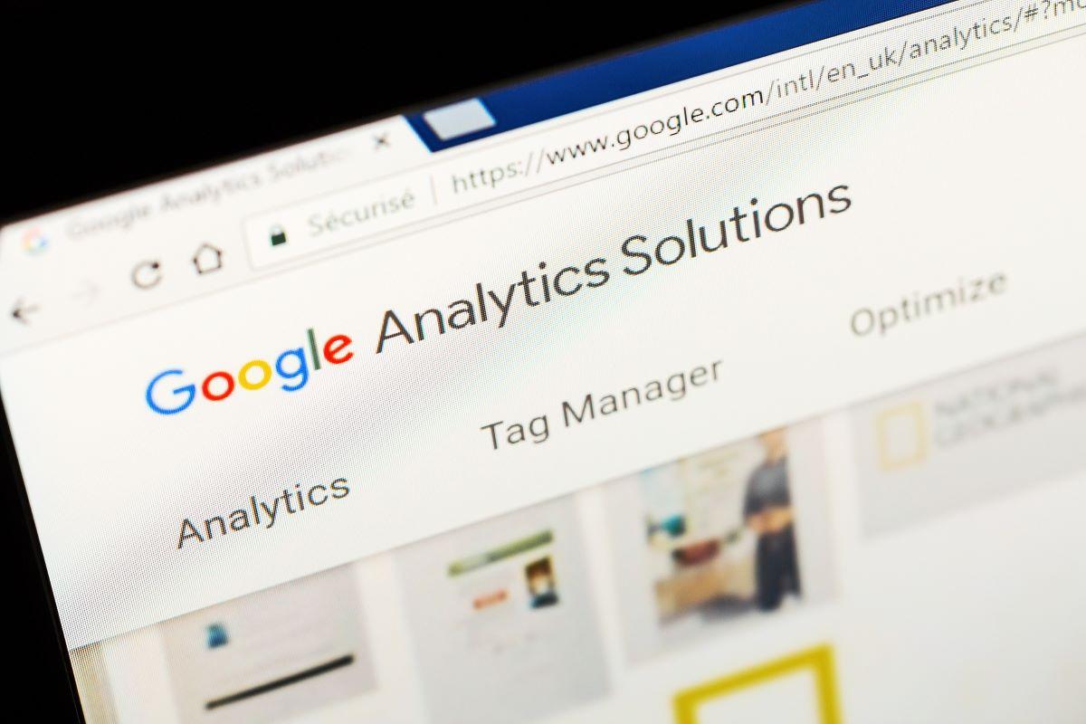 google analytics used for SEO