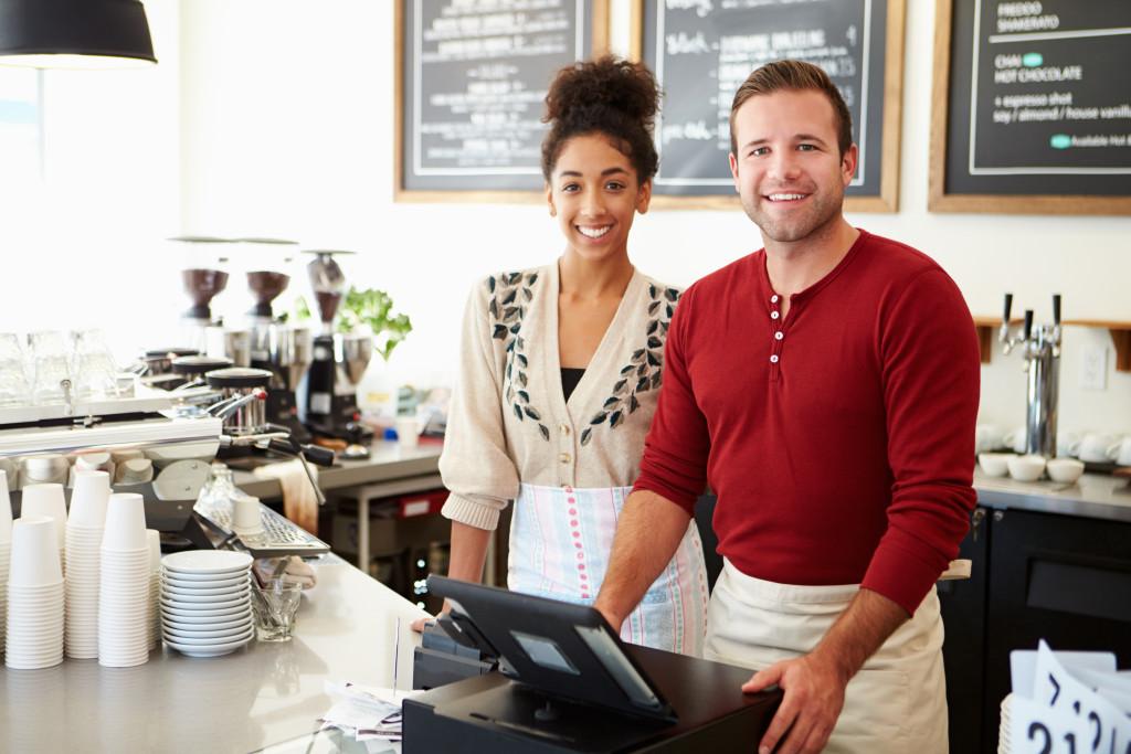 couple of baristas